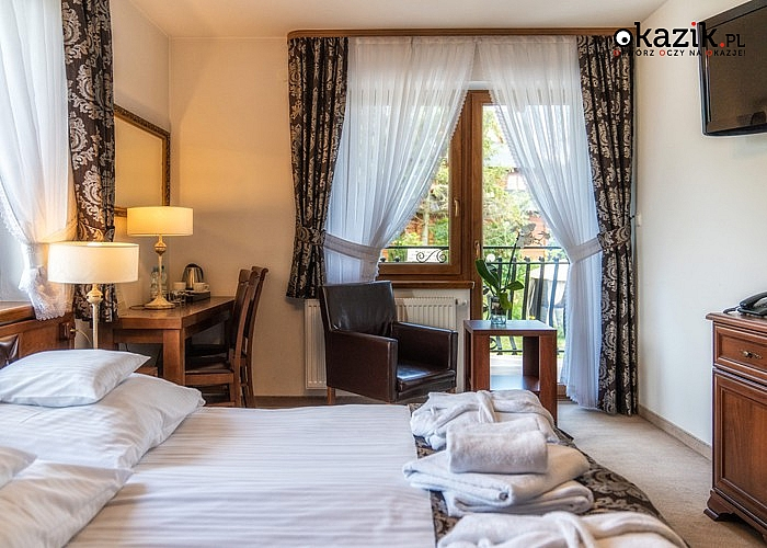 Sądelski Dwór **** w Murzasichle gwarantuje luksusowe wakacje na jakie zasługujesz