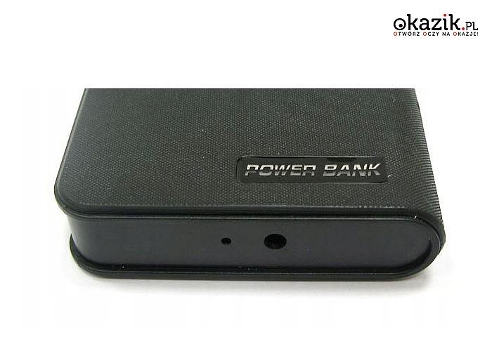 Podręczny powerbank z funkcją kamery, dyktafonu i aparatu! Idealny gadżet dla ciekawskich!