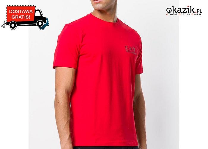 Bluzka męska Emporio Armani! DARMOWA dostawa! Najwyższa jakość wykonania!