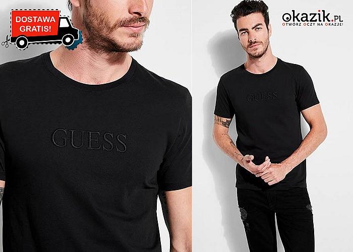 Bluzka męska Guess! DARMOWA przesyłka! Najwyższa jakość wykonania!