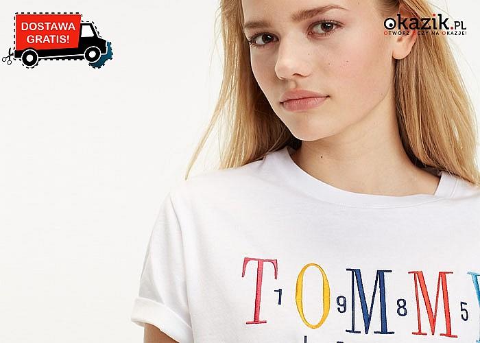 Bluzka damska Tommy Hilfiger! DARMOWA przesyłka! Najwyższa jakość wykonania!