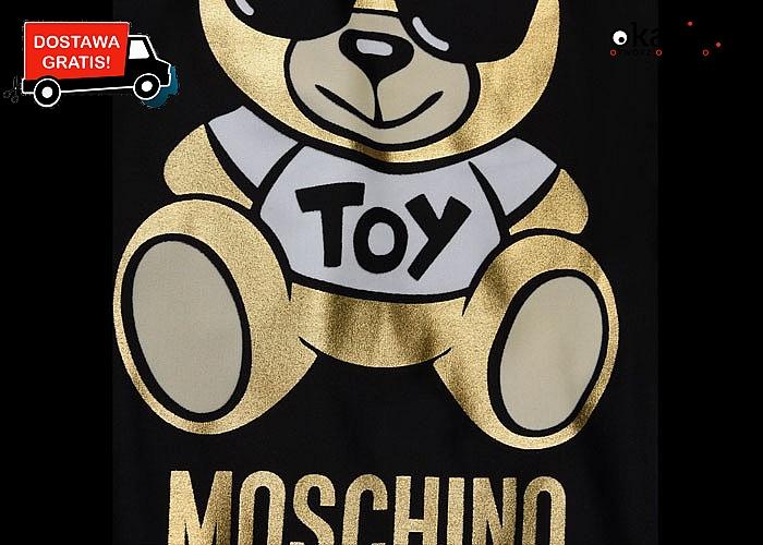 Jednoczęściowy strój kąpielowy z logo Moschino.