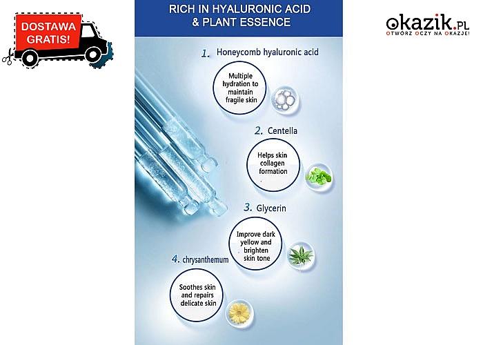 Bestseller w pielęgnacji cery! Serum ze skoncentrowanym kwasem hialuronowym!