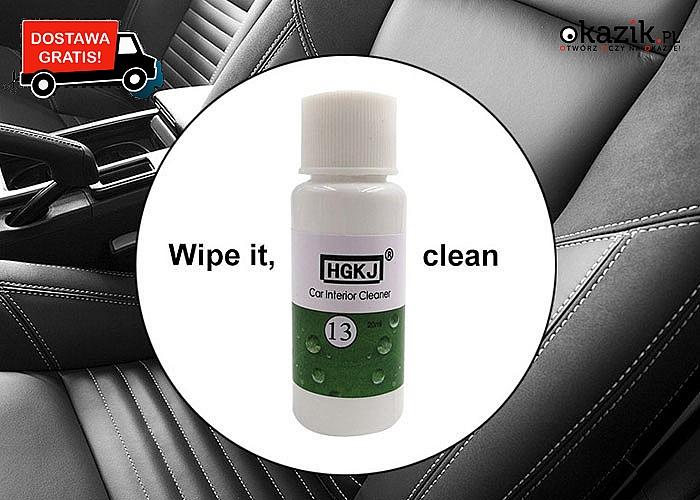 HIT! Środek do czyszczenia samochodu! Świetne efekty gwarantowane!