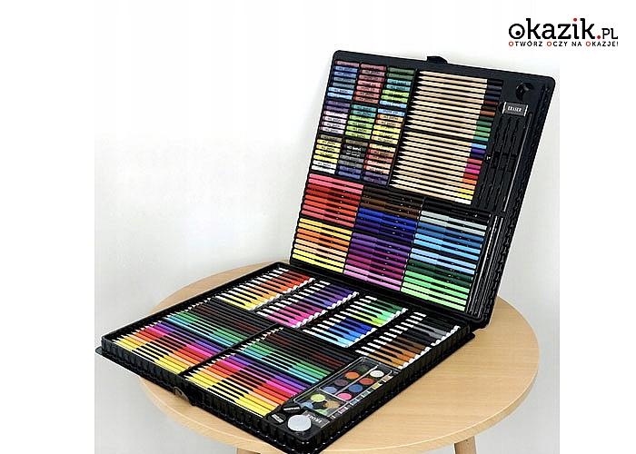 Wymarzony zestaw dla małych i dużych artystów, którzy kochają rysowanie i malowanie