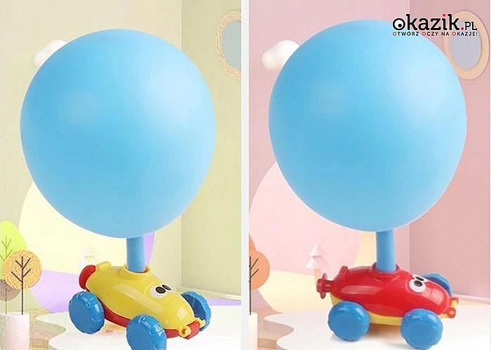 Autko napędzane powietrzem z balona to zabawa i nauka dla każdego dziecka