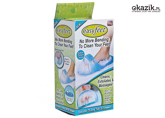 Easy Feet! Niezawodne urządzenie do pielęgnacji i masażu stóp!