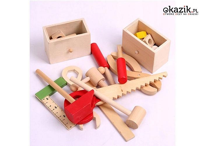 Walizka z narzędziami to wiele godzin fascynującej zabawy w małego majsterkowicza