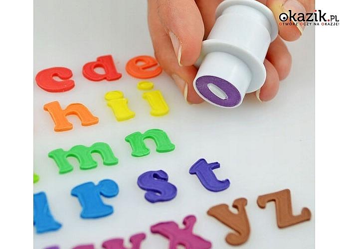 Foremki- wykrawacze w kształcie literek! Cały alfabet!