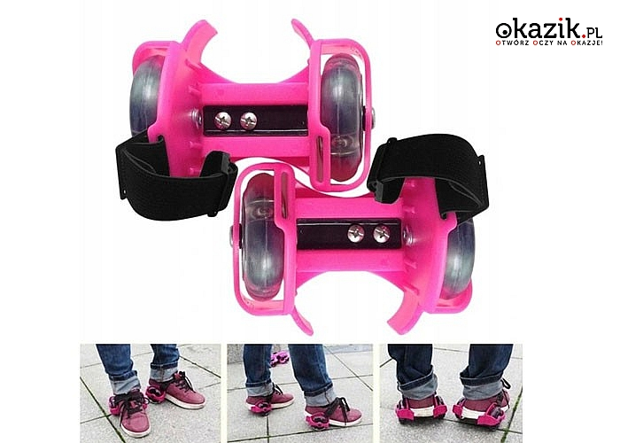 Rolki , kółka nakładane na buty!!! Wspaniała zabawa dla dzieci i dla dorosłych. Spędź wolny czas aktywnie!!!