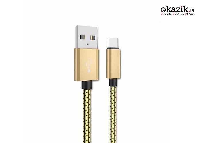 Kabel do telefonu micro USB! Szybkie ładowanie! Aż 1 metr długości!