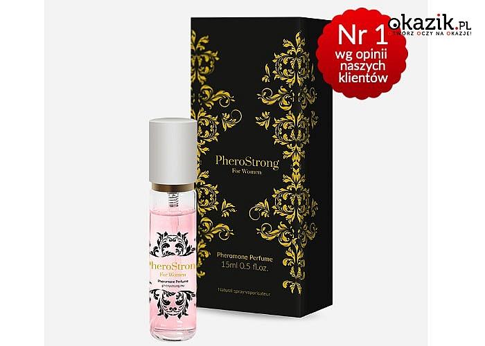 Uwodź zapachem! Feromony Phero Strong for Woman specjalnie dla Ciebie!