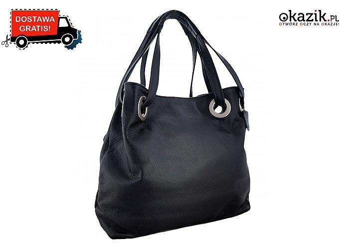 Klasyczna torebka, która swoją elegancją uzupełni każdą stylizację!