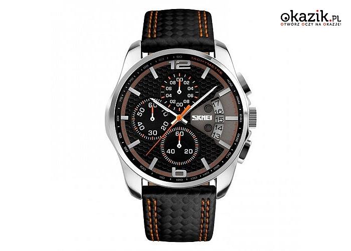 Dla każdego modnego mężczyzny! Kwarcowy zegarek SKMEI9106