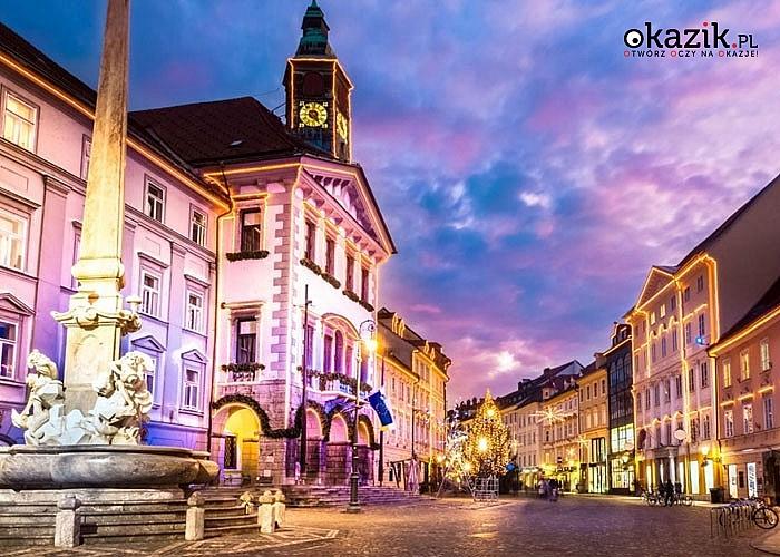 Malownicza Słowenia zaprasza! 5-cio dniowa wycieczka z noclegiem w hotelu**/***.Przejazd, zwiedzanie i opieka w pakiecie