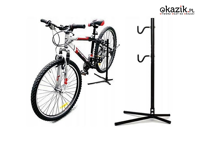 Doskonały do domu czy garażu! Wieszak ścienny lub serwisowy stojak na rower!