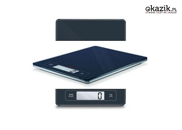 Nowoczesna waga elektroniczna doskonale się prezentuje i jest bardzo funkcjonalna
