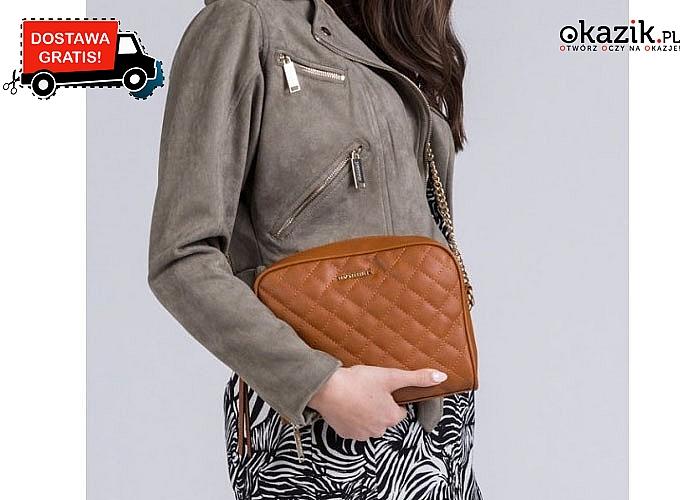 Damska torebka w stylu Chanel ,cenionej marki MONNARI . Zawsze modna , idealna na każdą okazję