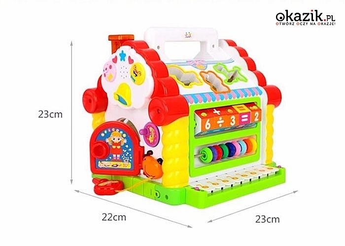Atrakcyjna zabawka dla najmłodszych! Nauka poprzez zabawę!