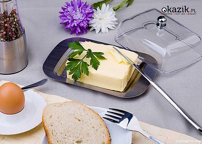 Czy masło jest standardowym elementem Twojego śniadania? Potrzebujesz maselniczki!