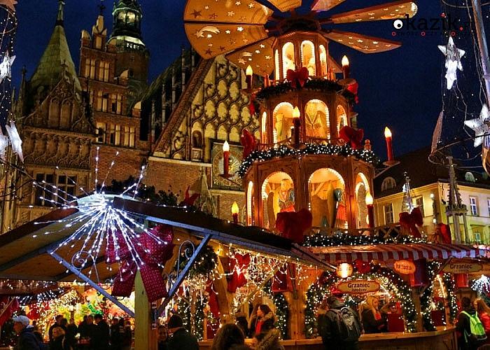 Pachnące lasem choinki, aromat grzanego wina i poszukiwania krasnali- Jarmark Bożonarodzeniowy we Wrocławiu!