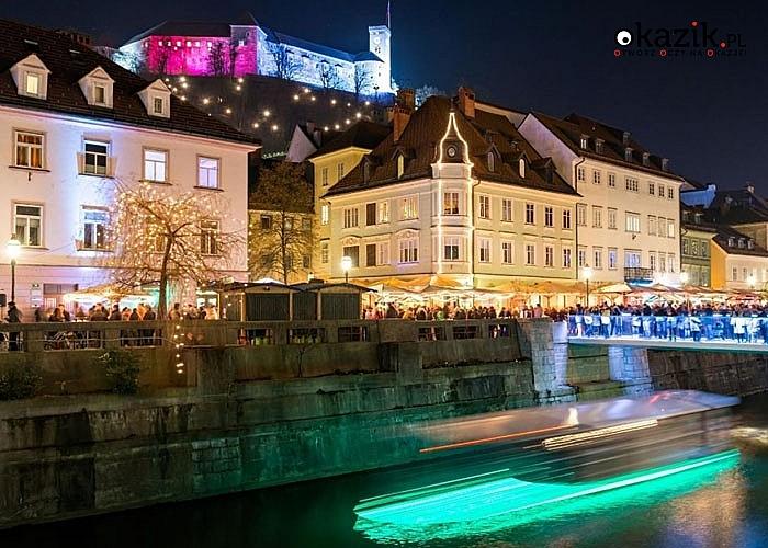 Zapraszamy do Lublany czekają pięknie oświetlone miasto, liczne imprezy na ulicach, koncerty oraz świąteczny kiermasz