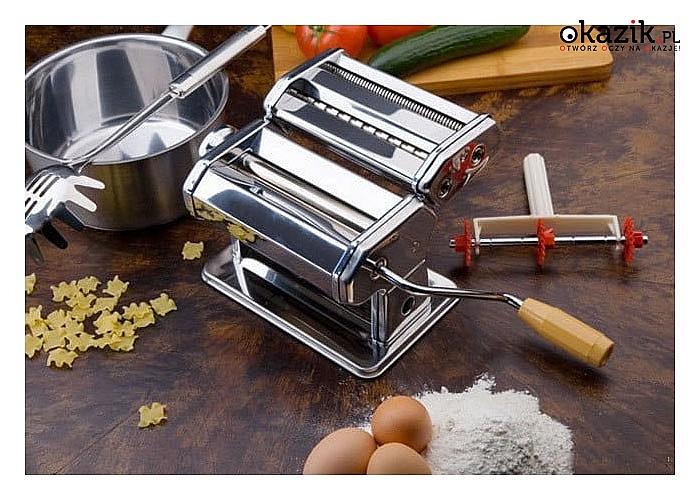 Funkcjonalna maszynka do makaronu Elitehoff to doskonała propozycja dla miłośników makaronu