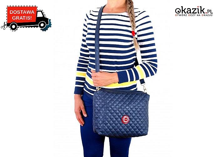 Absolutny HIT 2 torebki w cenie 1!!!!  W zestawie torebka typu Shopper oraz mniejsza pikowana w stylu Chanel