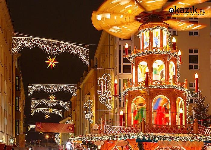Jarmark Bożonarodzeniowy w Dreźnie! Autokar klasy LUX! Zwiedzanie! Opieka doświadczonego pilota!