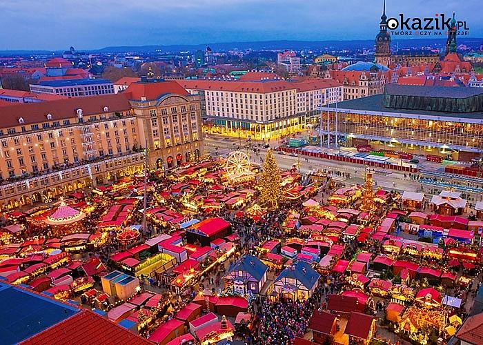 Jarmark Bożonarodzeniowy Drezno z noclegiem BB . Przejazd, zwiedzanie i opieka w pakiecie.
