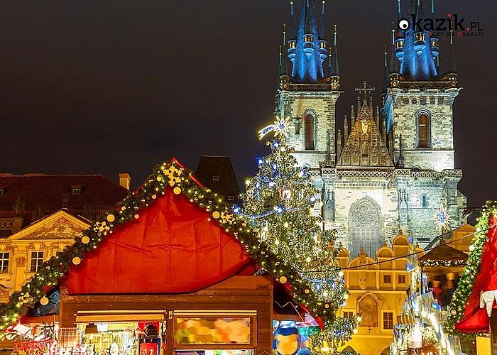 Wzniosła atmosfera, kolorowe kramy i gwar szczęśliwych ludzi to wszystko Cię czeka na Jarmarku Świątecznym w Pradze