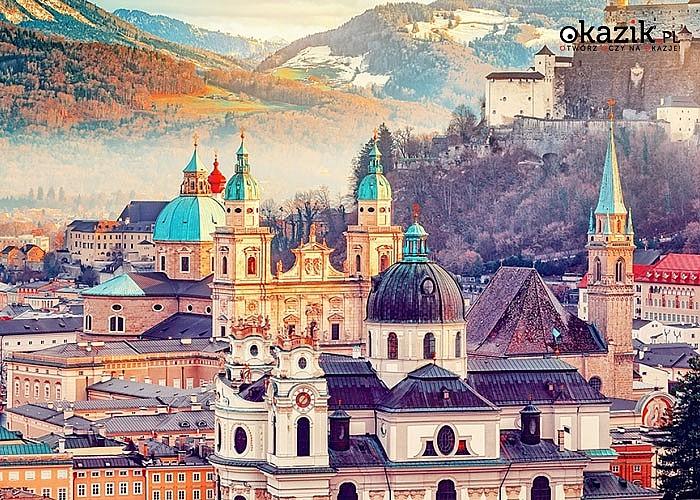 Poznaj Salzburg w świątecznej odsłonie. Przejazd, zwiedzanie i opieka w pakiecie.
