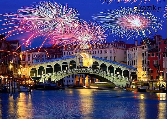 Wystrzałowy sylwester w Wenecji. Przejazd, zwiedzanie i opieka w pakiecie.