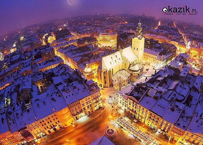 Niezwykła noc sylwestrowa we Lwowie. Przejazd, zwiedzanie i opieka w pakiecie.