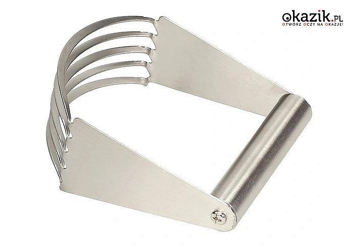 Siekacz – rozdrabniacz do ciasta ułatwi prace przy wypiekach, niezbędny w każdej kuchni