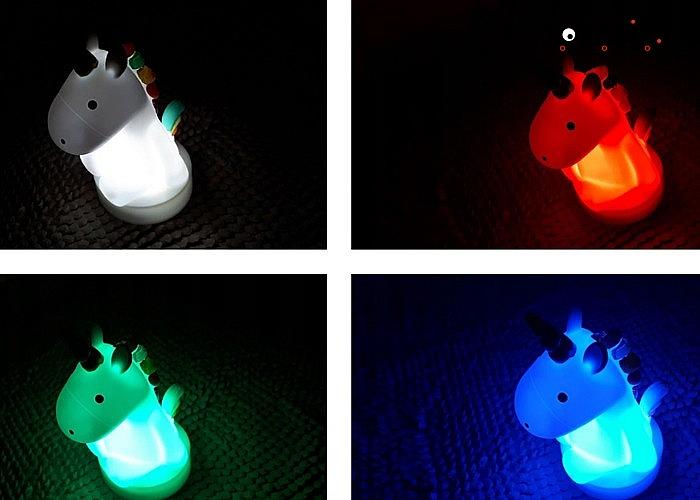 Urocze, ledowe lampki nocne – idealne do dziecięcego pokoju!
