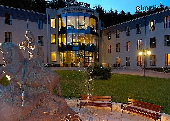 Sylwester w malowniczych Górach Stołowych! Spędź ten czas w  Hotelu Uzdrowiskowym St. George w Kudowie Zdrój