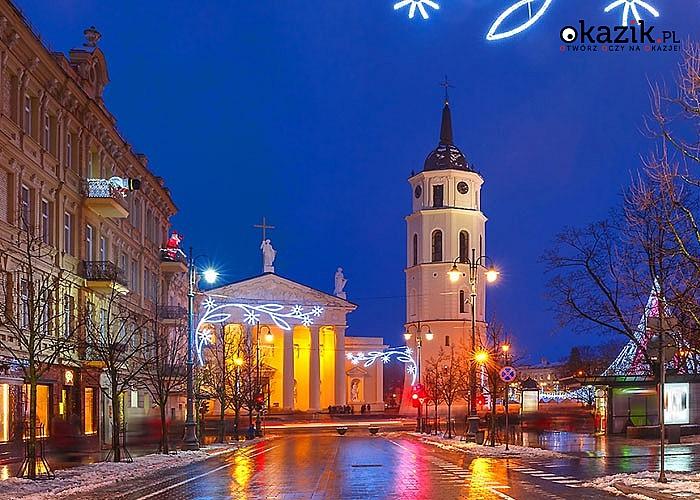 Wystrzałowy sylwester w Wilnie. Przejazd, nocleg ze śniadaniem, zwiedzanie i opieka w pakiecie.