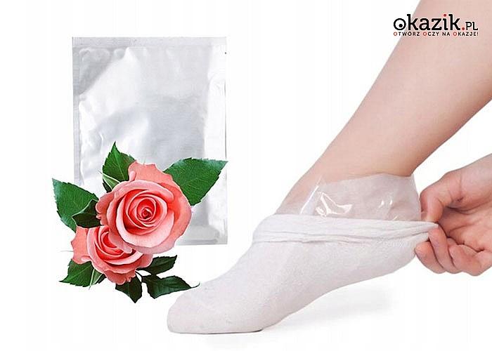 Delikatne, gładkie i zadbane stopy! Złuszczające skarpetki! Kuracja złuszczająco-regenerująca!