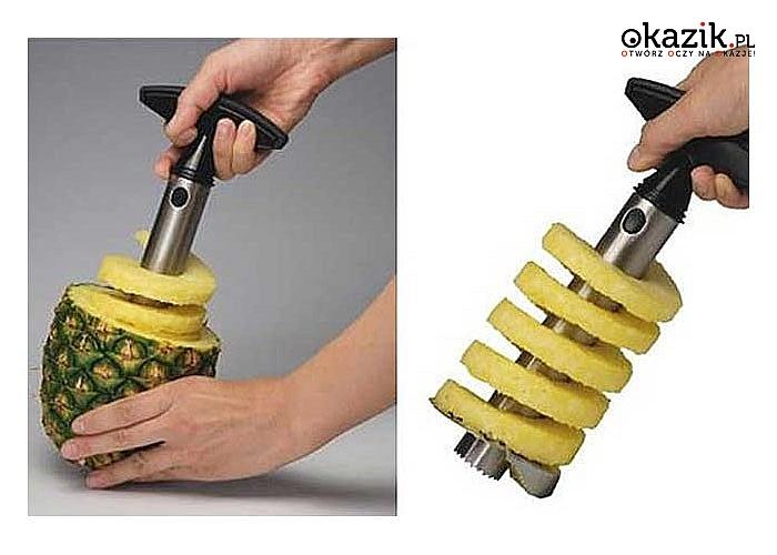 Nóż do ananasa, Drylownica i wykrawacz , wszystkie możliwości w jednym urządzeniu