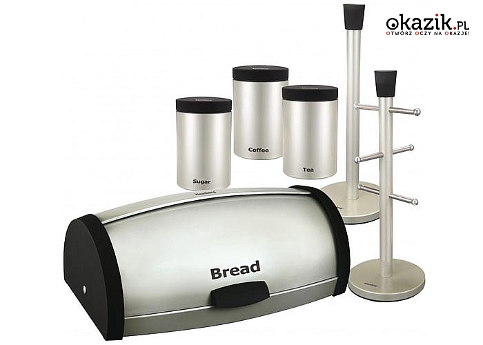 Stylowy i nowoczesny zestaw kuchenny Klausberg składający się z 6 elementów