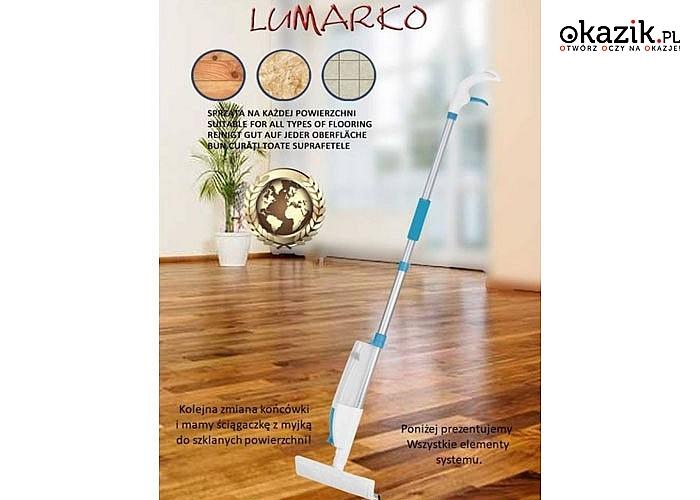 Multispay mop Bardzo nowoczesny zestaw narzędzi do sprzątania, który ułatwi codzienne porządki