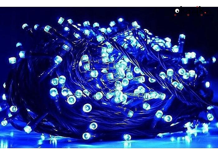 Zestaw pięknych lampek choinkowych LED, idealnie wpisze się w choinkę jako ozdoba nadająca jej nieco zimowego klimatu