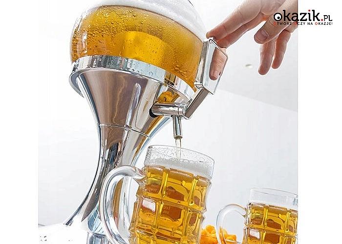 Dystrybutor alkoholu i innych napojów! Niezastąpiony gadżet na każdą imprezę!