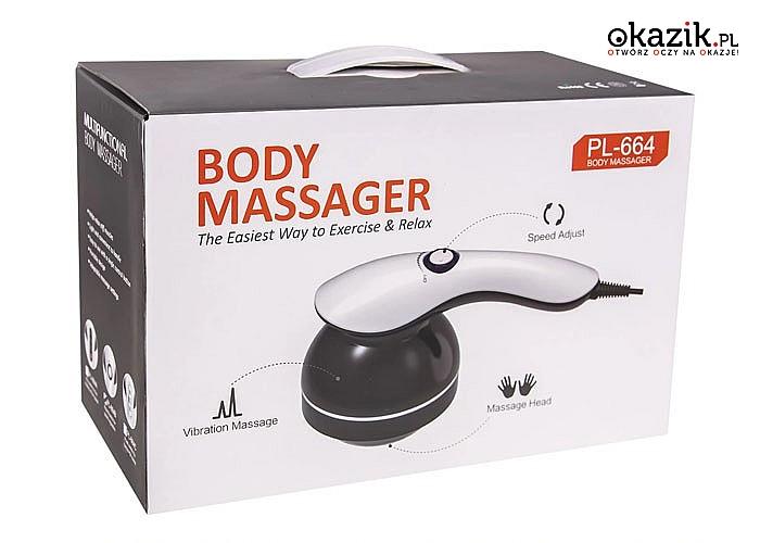 Ujędrniający, antycellulitowy masażer do ciała 8w1! Zadbaj o siebie i poczuj się lepiej!