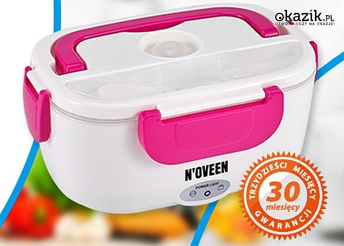 Elegancki i kompaktowy elektryczny lunch box
