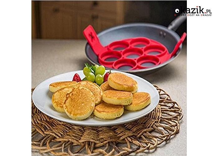 Silikonowa forma! Idealna do naleśników, pancake'ów oraz jajek! Wysoka jakoś wykonania!