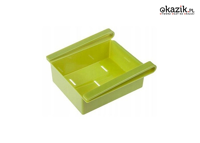 Zadbaj o porządek w swojej lodówce! Dodatkowa szuflada do przechowywania artykułów spożywczych.