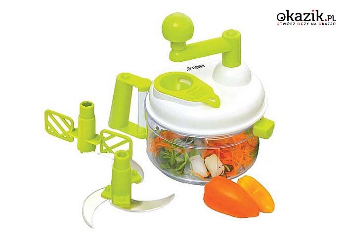 Krajacz do warzyw i owoców to wielofunkcyjne i praktyczne urządzenie przydatne każdej domowej gospodyni