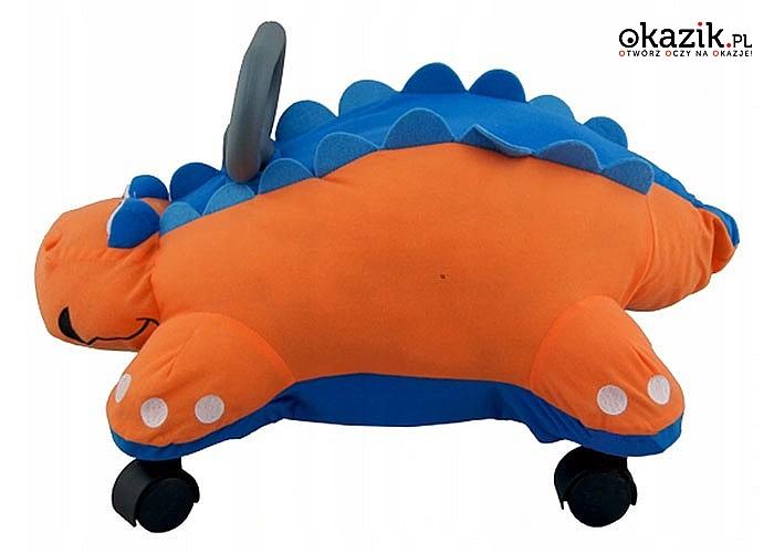 Nadzwyczajna i odlotowa multifunkcyjna zabawka zadowoli na pewno każde dziecko-jeździk, chodzik, poduszka, przytulanka